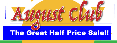 The Great Half Price Sale - August Club!!