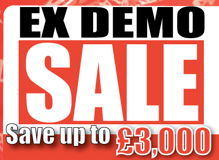 Big News!! Demo Sale - Save up to £3,000