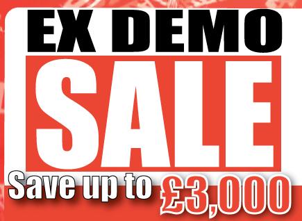 Big News!! Demo Sale - Save up to £3,000