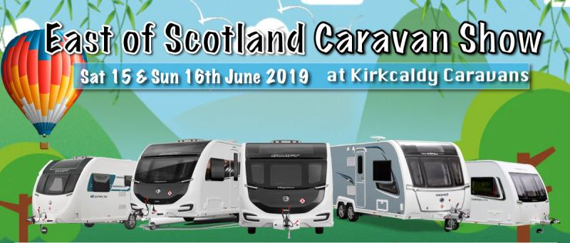 East of Scotland Caravan Show this Weekend!!